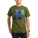 Dimensional Chill Abstract Organic Men's T-Shirt (