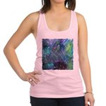 Dimensional Chill Abstract Racerback Tank Top