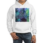 Dimensional Chill Abstract Hooded Sweatshirt