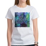 Dimensional Chill Abstract Women's T-Shirt