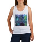 Dimensional Chill Abstract Women's Tank Top