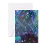 Dimensional Chill Abstract Greeting Cards (Pk of 2