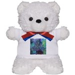 Dimensional Chill Abstract Teddy Bear