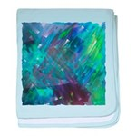 Dimensional Chill Abstract baby blanket