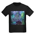 Dimensional Chill Abstract Kids Dark T-Shirt