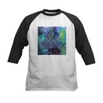 Dimensional Chill Abstract Kids Baseball Jersey