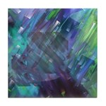 Dimensional Chill Abstract Tile Coaster