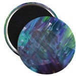 Dimensional Chill Abstract Magnet