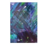 Dimensional Chill Abstract Postcards (Package of 8