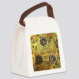I-Ching Canvas Lunch Bag