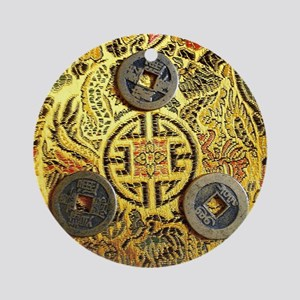 I-Ching Round Ornament