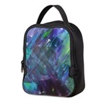 Dimensional Chill Abstract Neoprene Lunch Bag