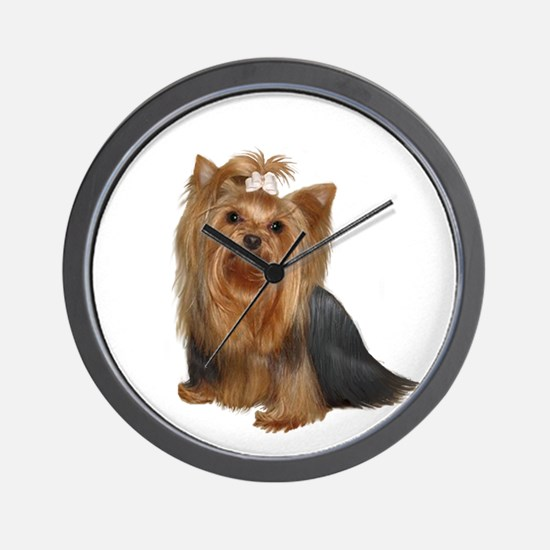 Yorkshire Terrier (#7) Wall Clock