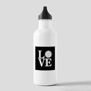 LOVE VOLLEYBALL BLK Water Bottle