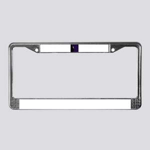 The Man Behind The Curtain License Plate Frame