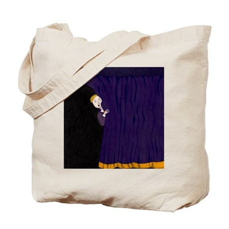 The Man Behind The Curtain Tote Bag