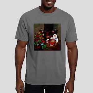 Sleeping Santa Claus with dog T-Shirt