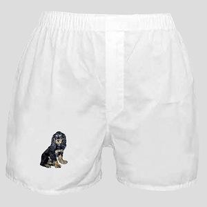 Cocker-black-tan Boxer Shorts