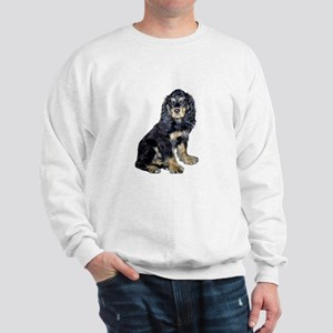 Cocker-black-tan Sweatshirt