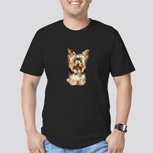 Yorkshire Terrier (#17) Men's Fitted T-Shirt (dark
