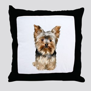 Yorkshire Terrier (#17) Throw Pillow