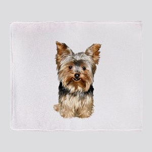 Yorkshire Terrier (#17) Throw Blanket