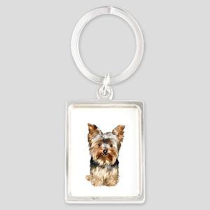 Yorkshire Terrier (#17) Portrait Keychain