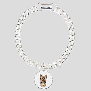 Yorkshire Terrier (#17) Charm Bracelet, One Charm