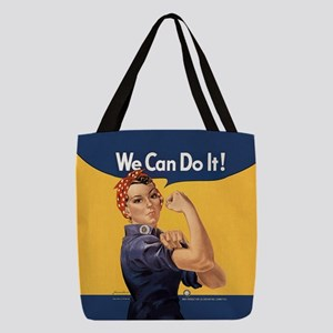 we-can-do-it_9x9 Polyester Tote Bag