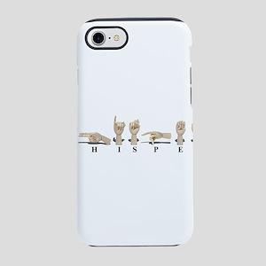 WhisperAmeslan062611 iPhone 7 Tough Case