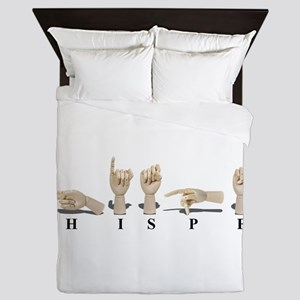 WhisperAmeslan062611 Queen Duvet