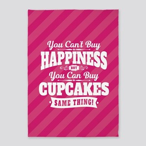 Cupcake Happiness 5'x7'Area Rug