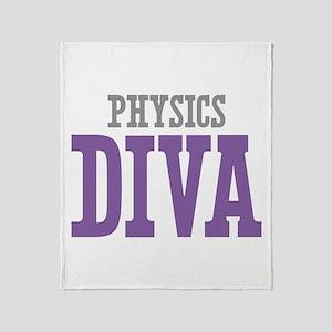 Physics DIVA Throw Blanket