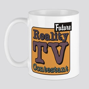 Future Reality TV Contestant Mug