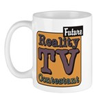 Future Reality TV Contestant Mug
