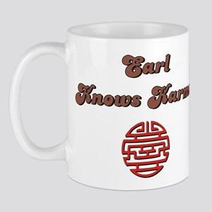 Earl Knows Karma Mug