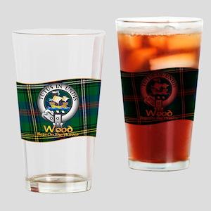 Wood Clan Drinking Glass