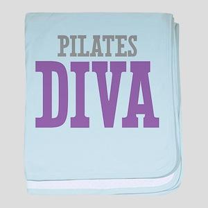 Pilates DIVA baby blanket