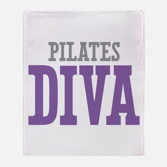 Pilates DIVA Throw Blanket