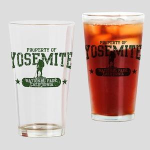 Yosemite Nat Park Hiker Guy Drinking Glass