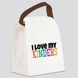 Love My Kinders Canvas Lunch Bag
