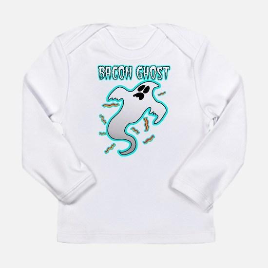 Bacon Ghost Long Sleeve T-Shirt