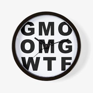 GMO OMG WTF Wall Clock