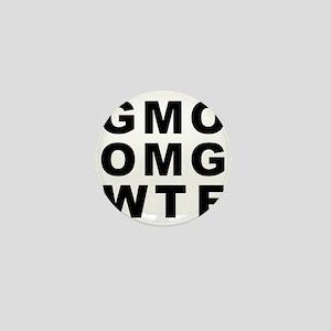 GMO OMG WTF Mini Button