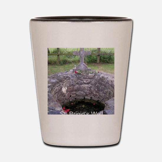 Brigid's Well, Kildare Shot Glass