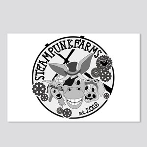 Black and White Logo Postcards (Package of 8)