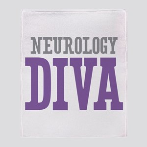 Neurology DIVA Throw Blanket
