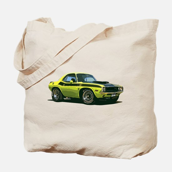 BabyAmericanMuscleCar_70CHLGR_Yellow Tote Bag