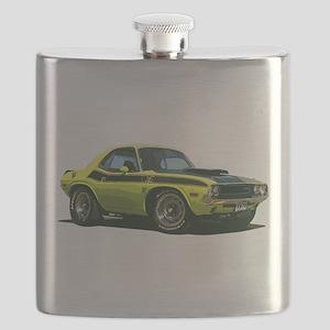BabyAmericanMuscleCar_70CHLGR_Yellow Flask