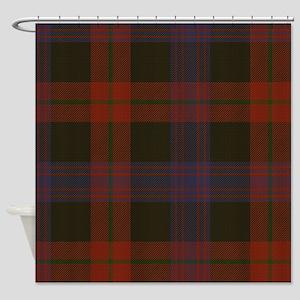 Brown Tartan Shower Curtain